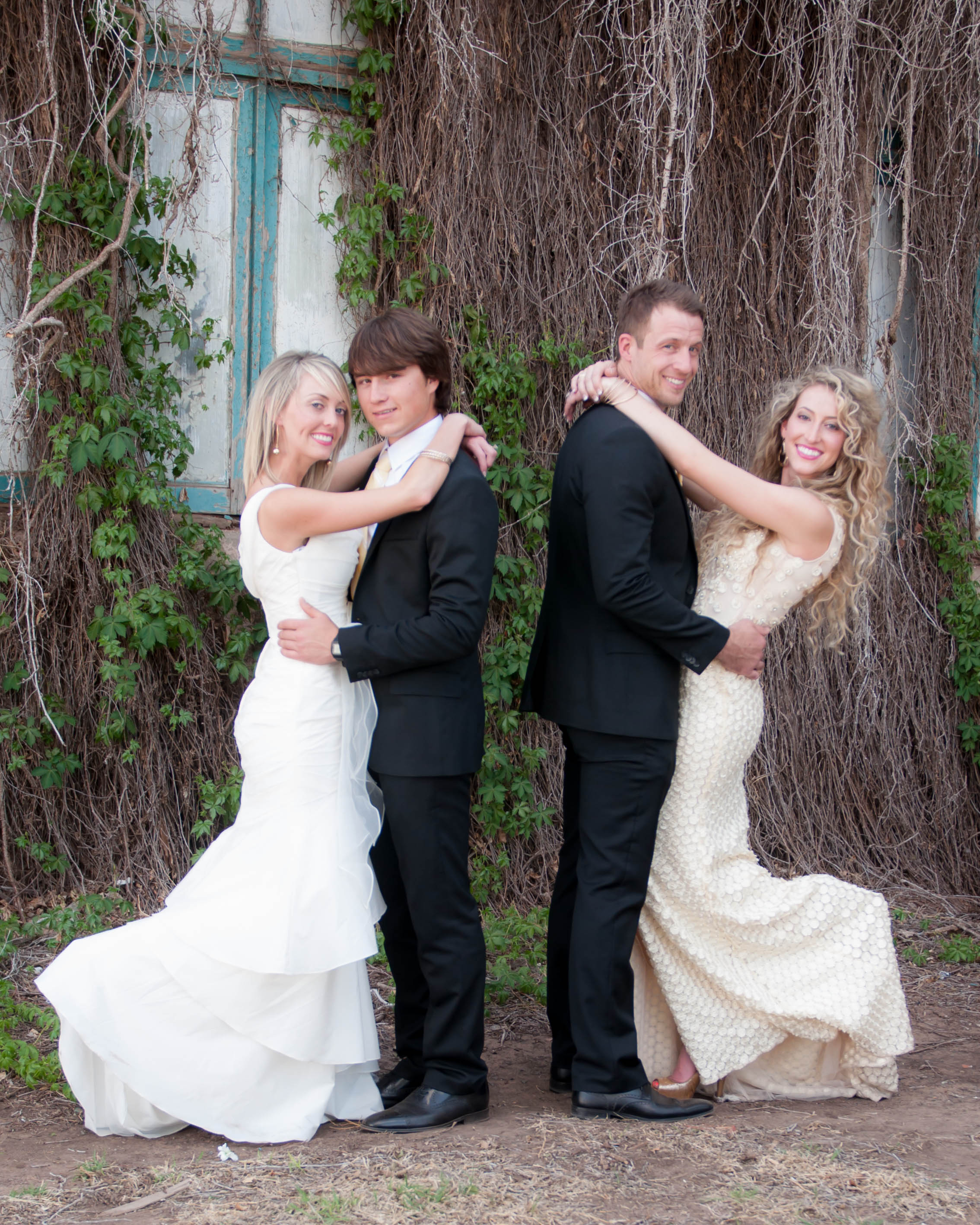 Golden chic clovis double wedding emily jake kate mike i clovis double 356 junglespirit Gallery